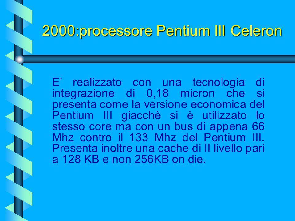 2000:processore Pentium III Celeron
