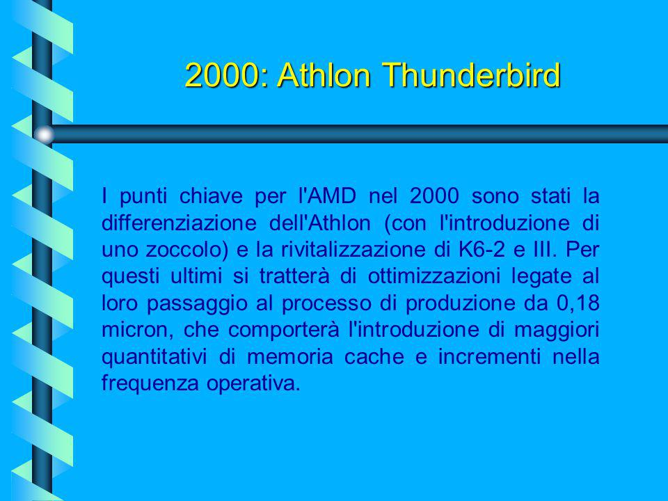 2000: Athlon Thunderbird