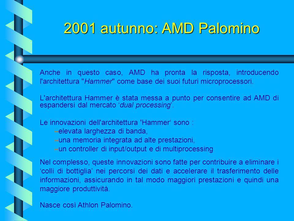 2001 autunno: AMD Palomino