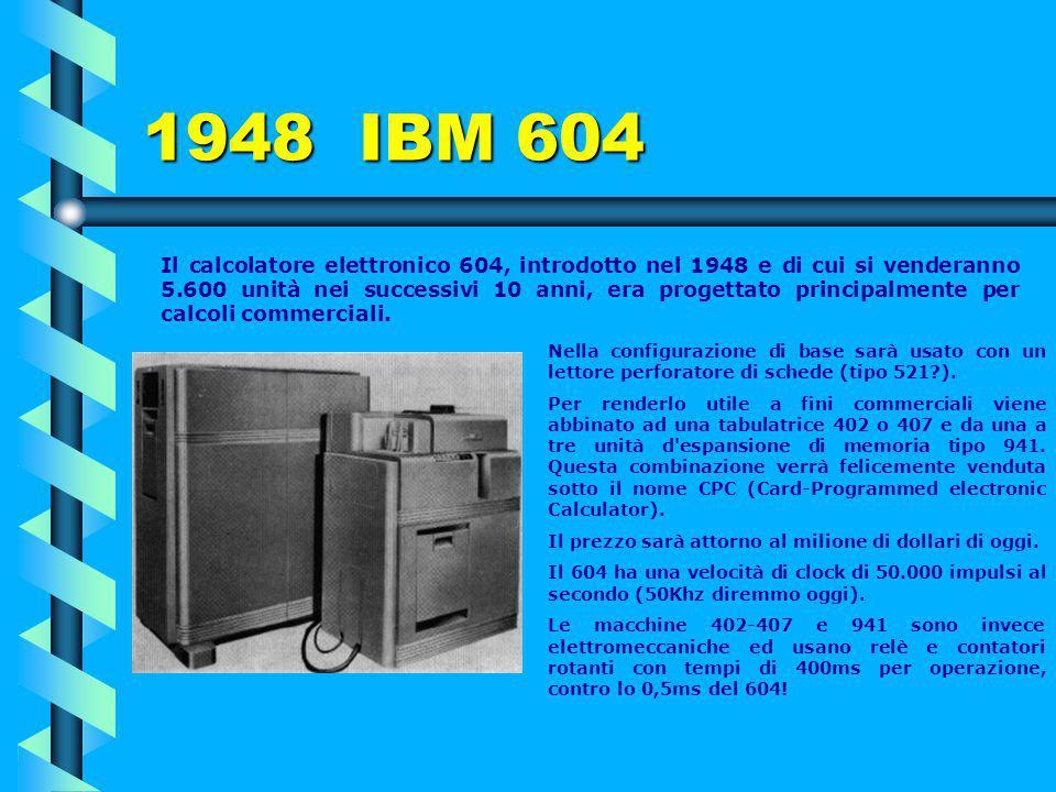 1948 IBM 604