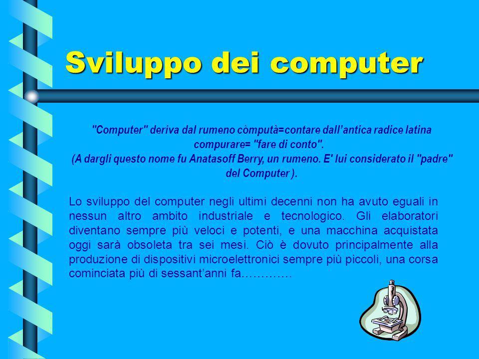 Sviluppo dei computer