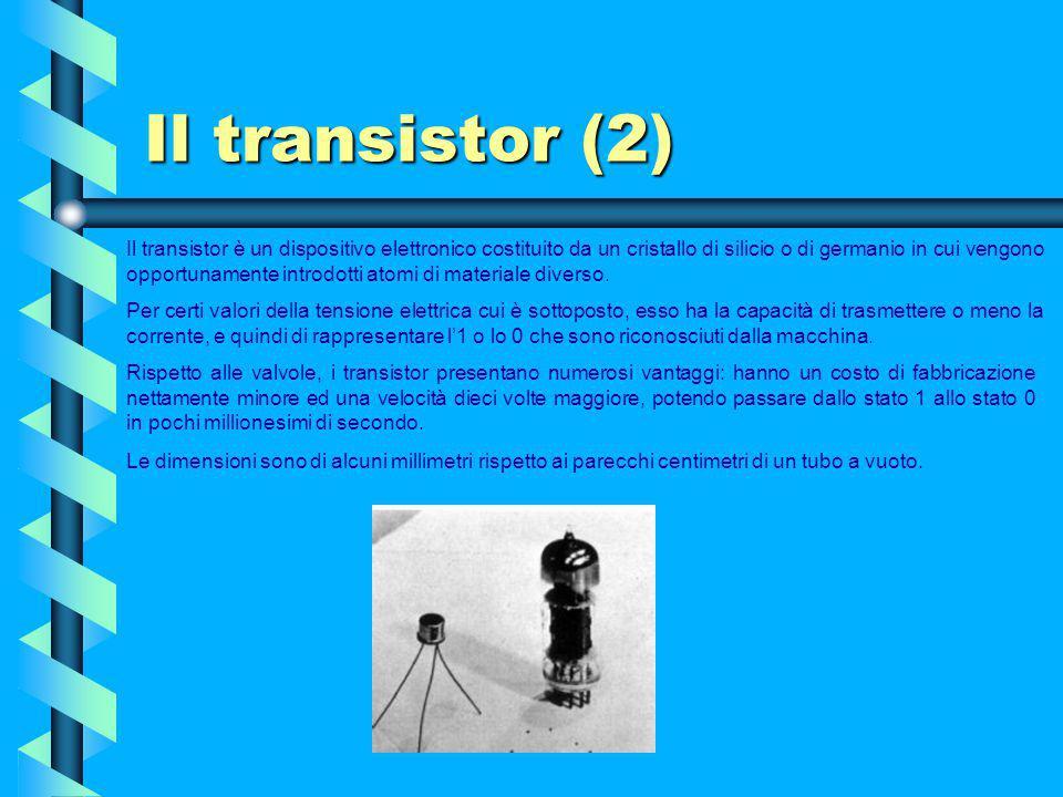 Il transistor (2)