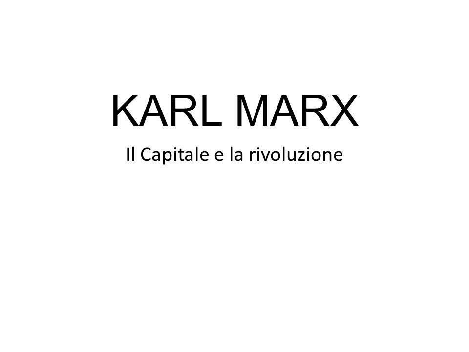 Il Capitale e la rivoluzione