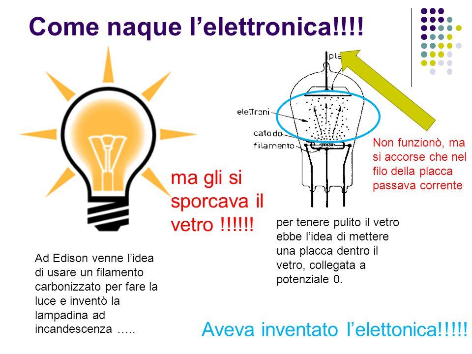 Come naque l'elettronica!!!!