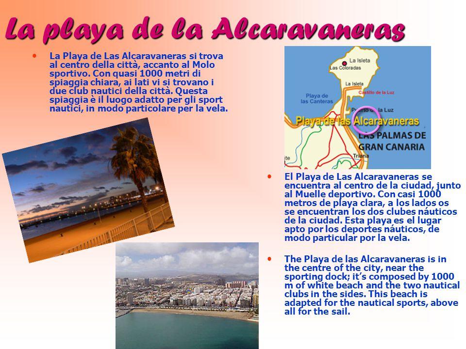 La playa de la Alcaravaneras