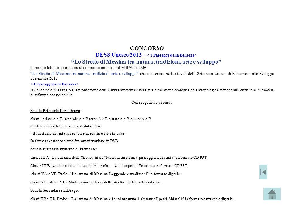 CONCORSO DESS Unesco 2013 – < I Paesaggi della Bellezza>