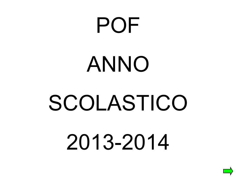 POF ANNO SCOLASTICO 2013-2014