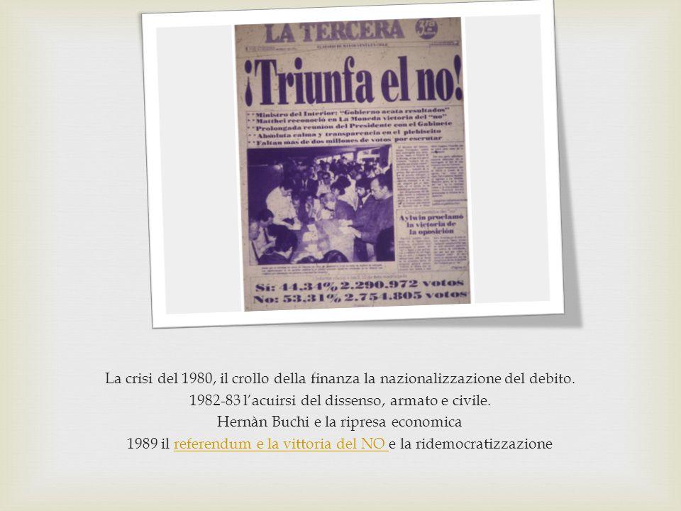 1982-83 l'acuirsi del dissenso, armato e civile.
