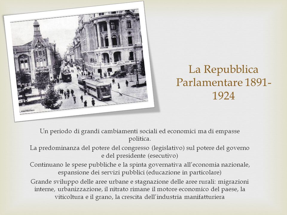 La Repubblica Parlamentare 1891-1924