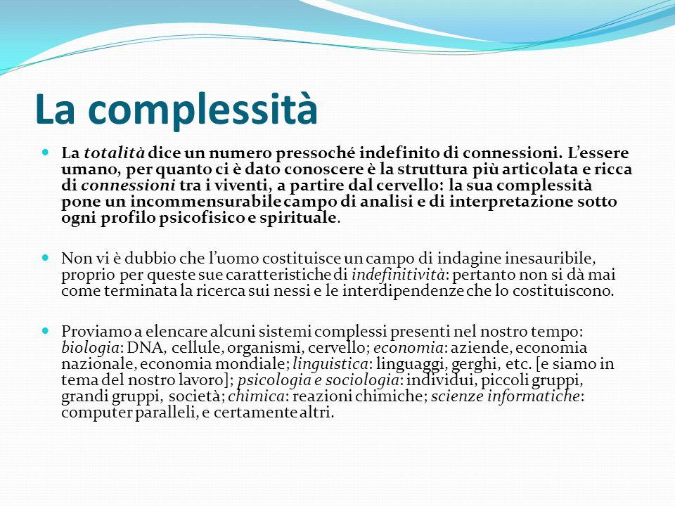 La complessità