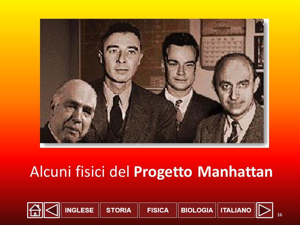 Alcuni fisici del Progetto Manhattan