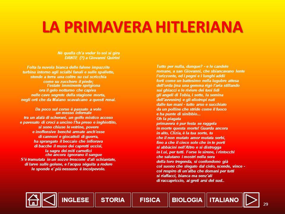 LA PRIMAVERA HITLERIANA
