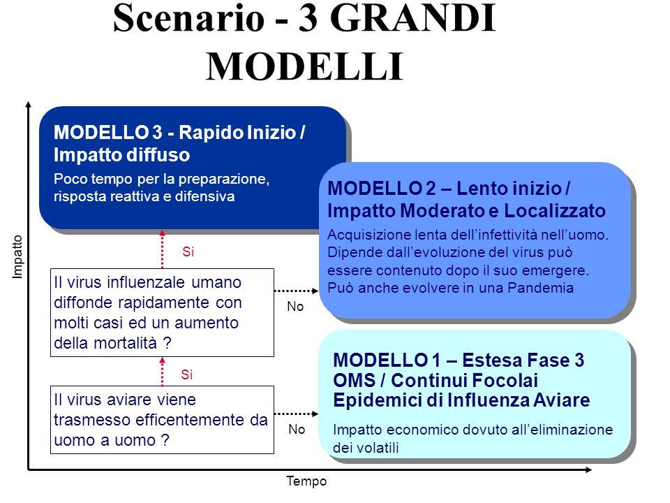 Scenario - 3 GRANDI MODELLI