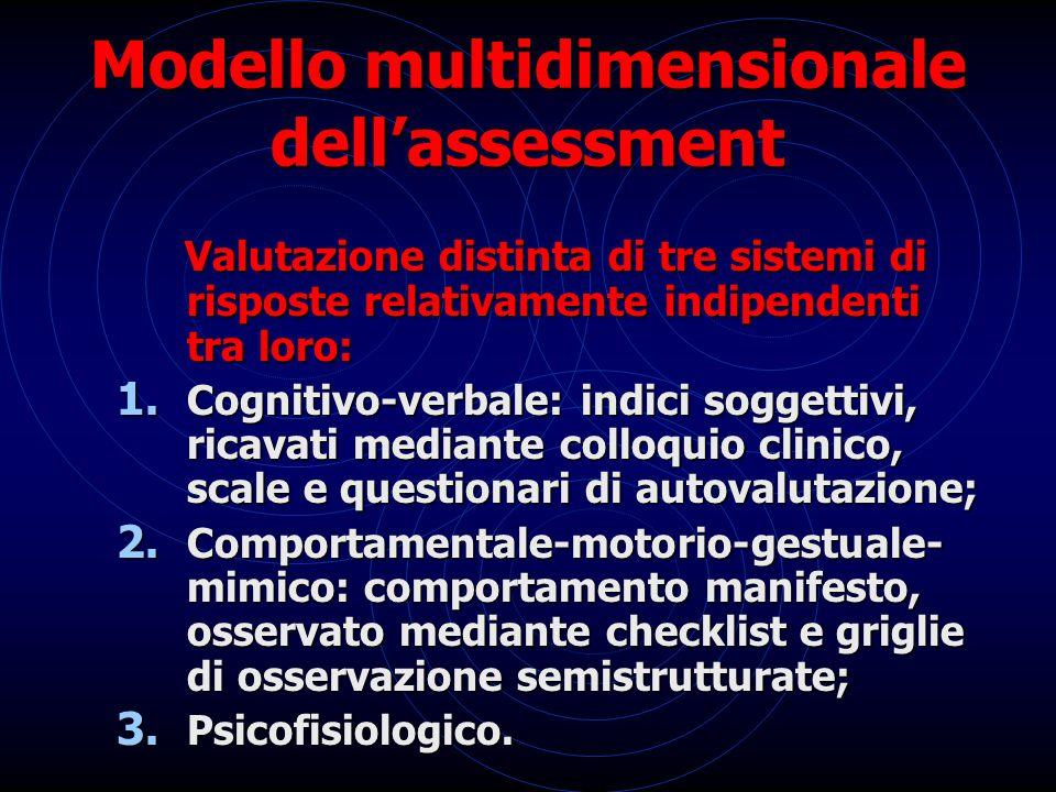 Modello multidimensionale dell'assessment