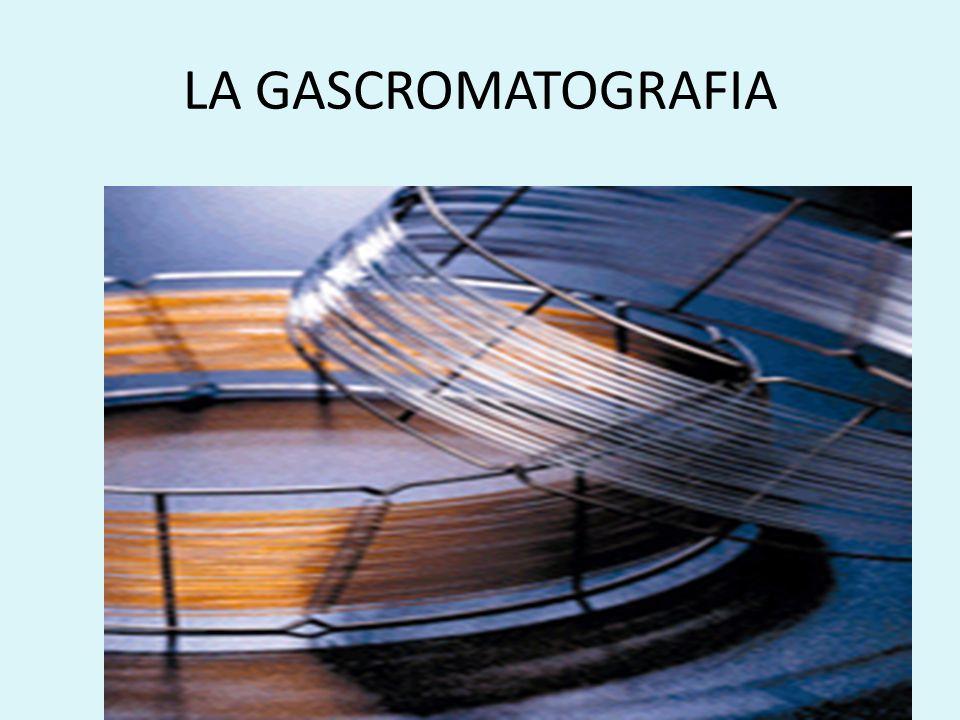 LA GASCROMATOGRAFIA