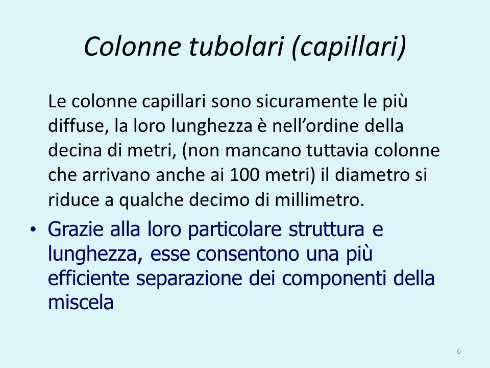 Colonne tubolari (capillari)