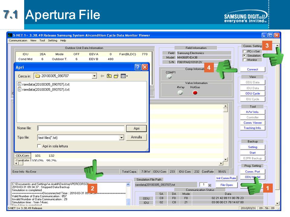 7.1 Apertura File 3 4 2 1