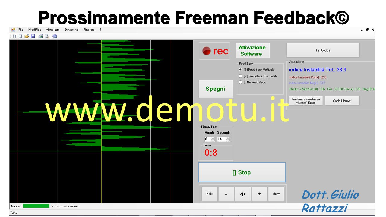 Prossimamente Freeman Feedback©