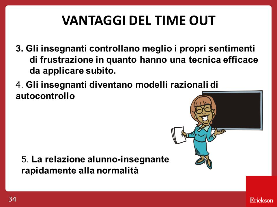 VANTAGGI DEL TIME OUT