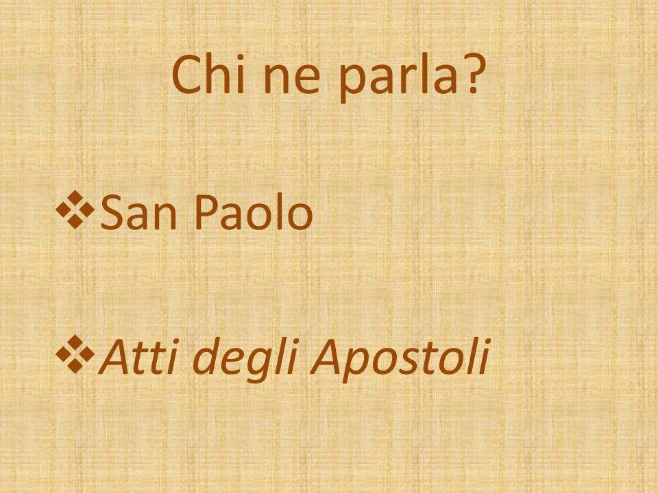 San Paolo Atti degli Apostoli