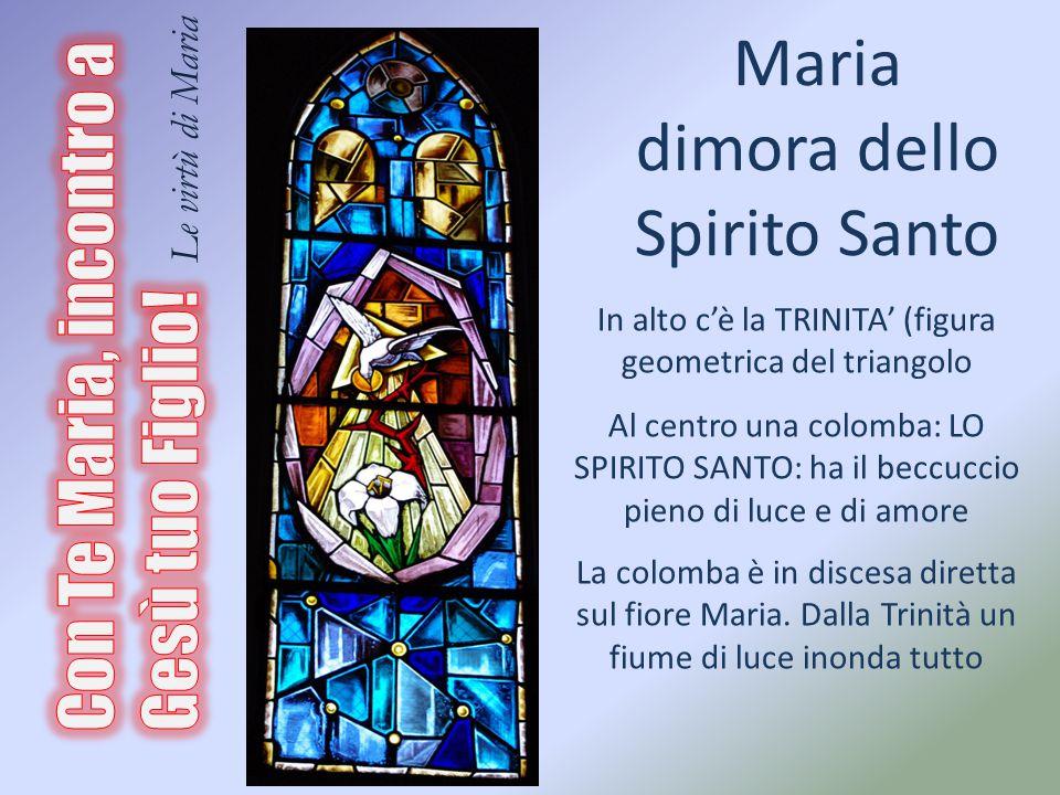 Maria dimora dello Spirito Santo
