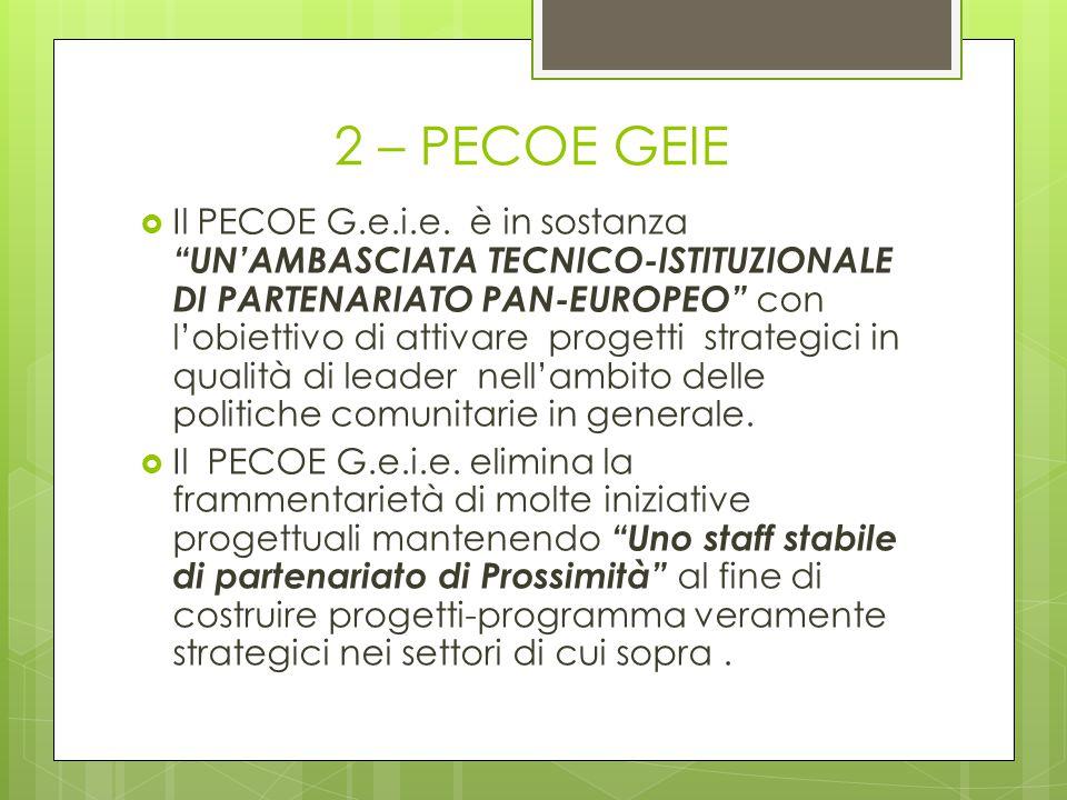 2 – PECOE GEIE