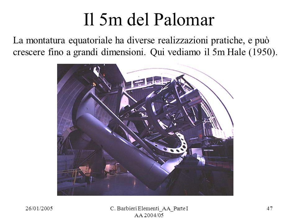 C. Barbieri Elementi_AA_Parte I AA 2004/05