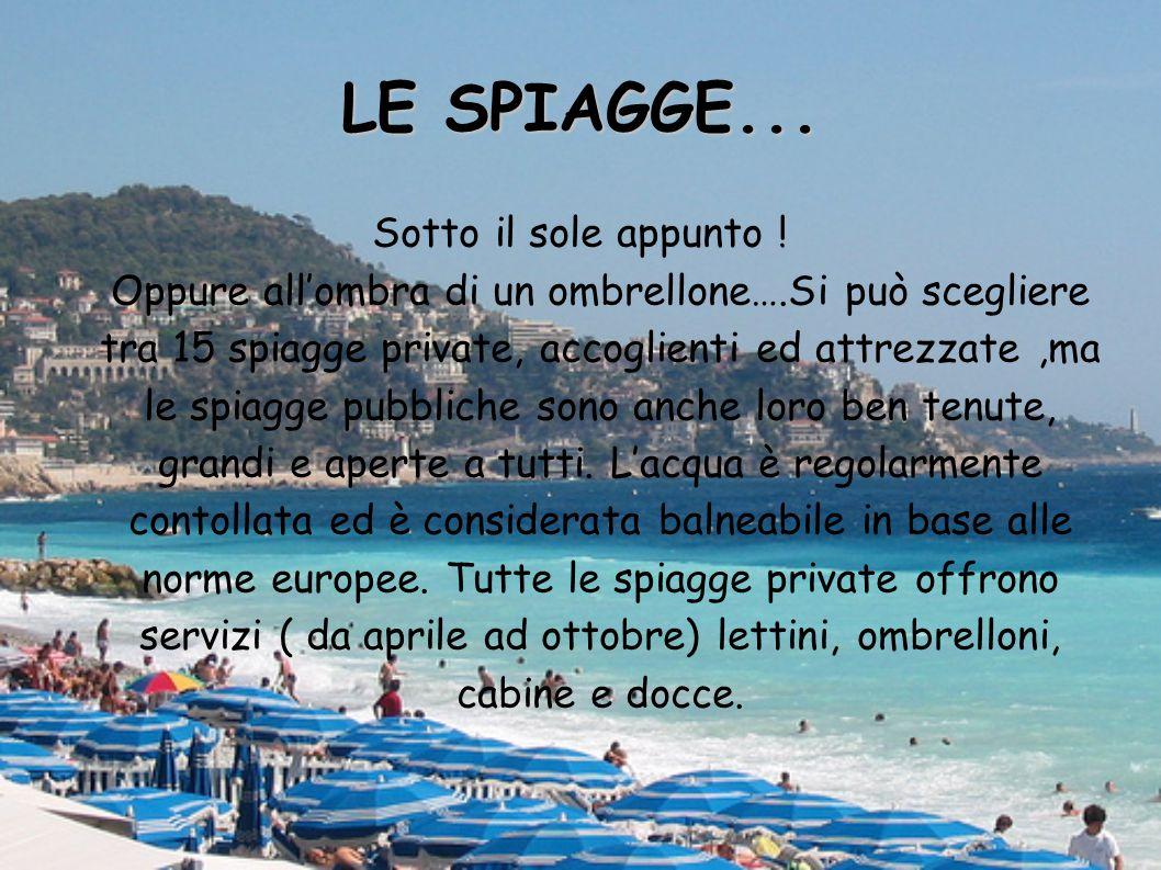 LE SPIAGGE...
