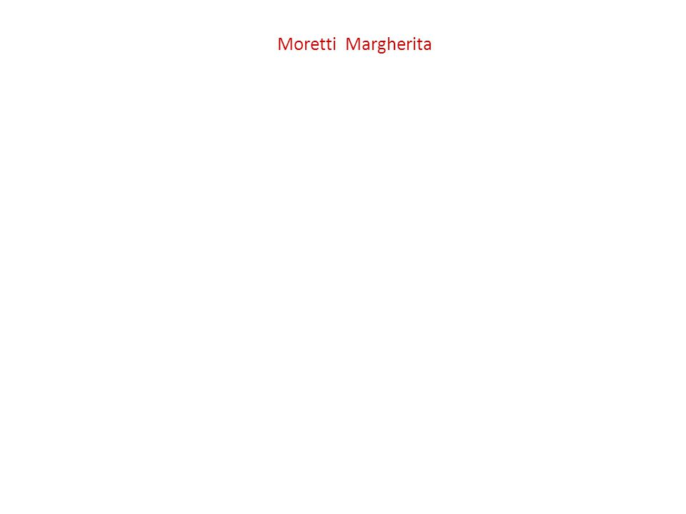 Moretti Margherita