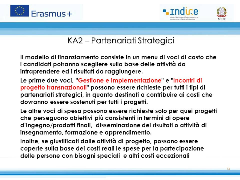 KA2 – Partenariati Strategici