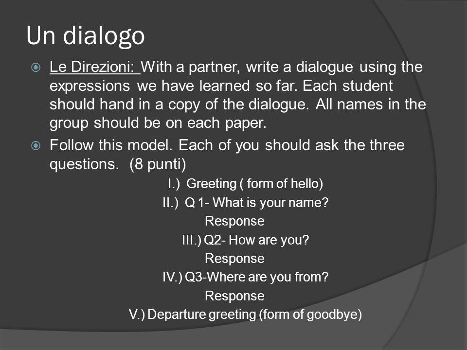 Un dialogo