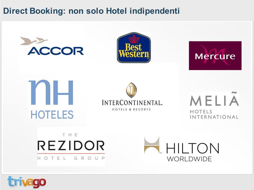 Direct Booking: non solo Hotel indipendenti