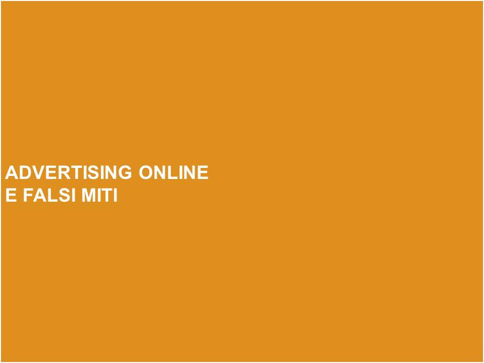 advertising online e falsi miti