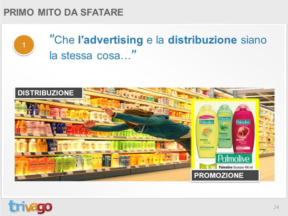 ′′Che l′advertising e la distribuzione siano la stessa cosa…′′