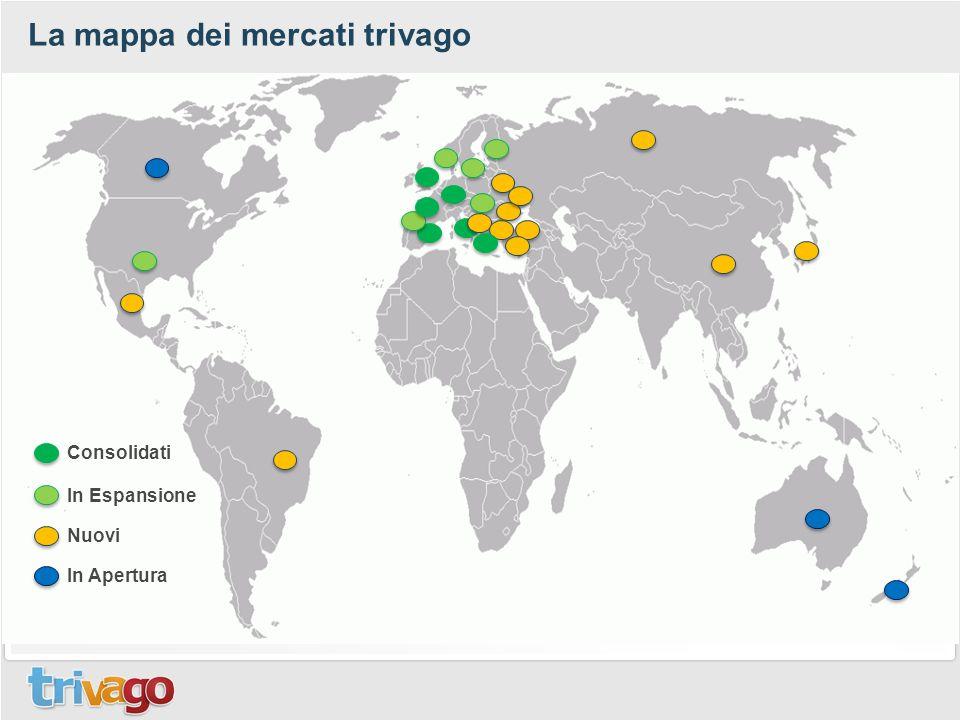 La mappa dei mercati trivago