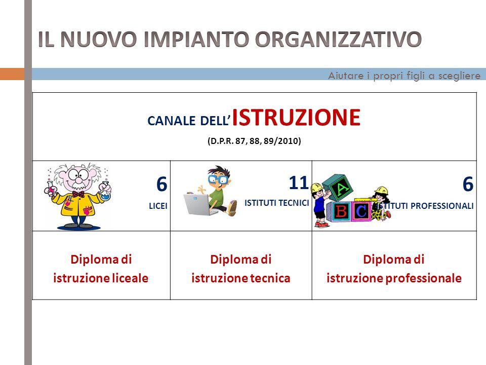 CANALE DELL'ISTRUZIONE istruzione professionale