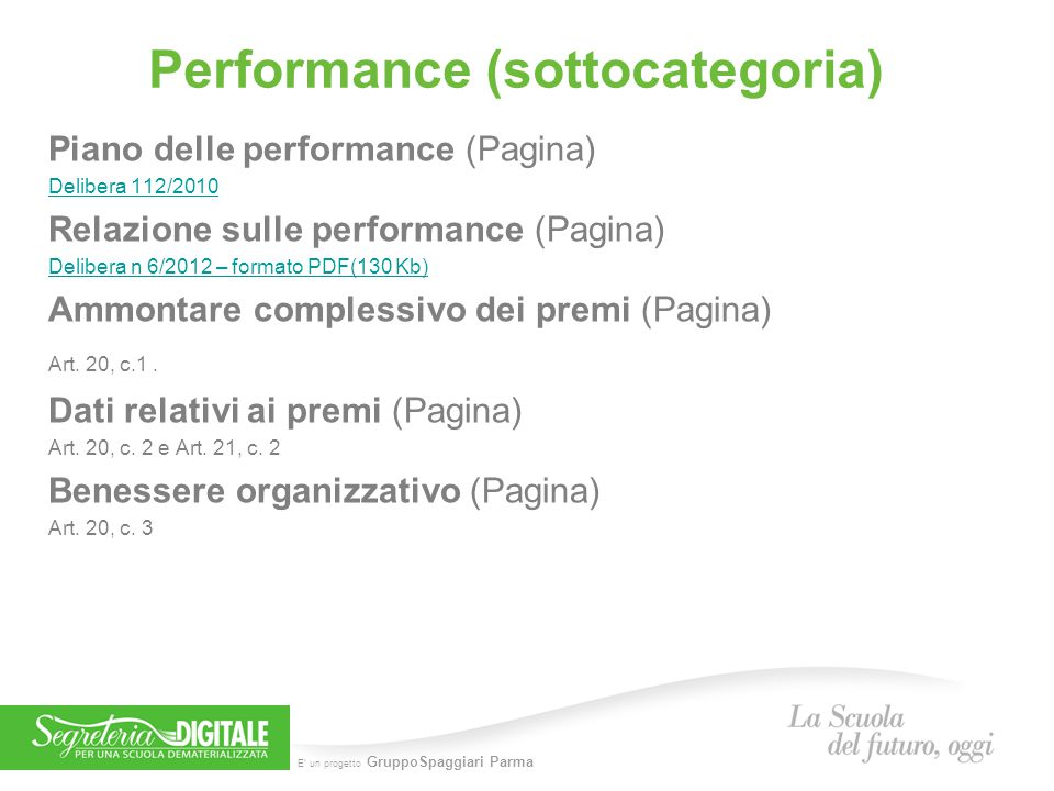 Performance (sottocategoria)
