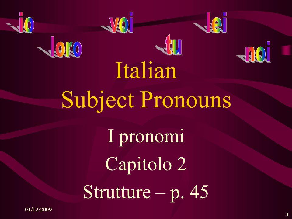 Italian 1 -- Capitolo 2 -- Strutture