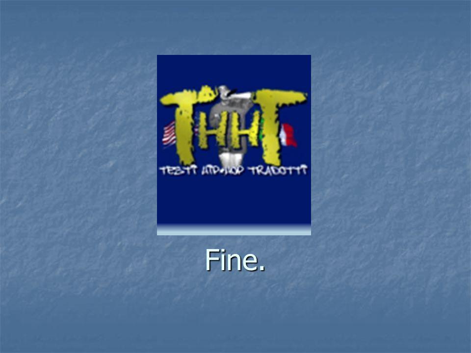 Fine.
