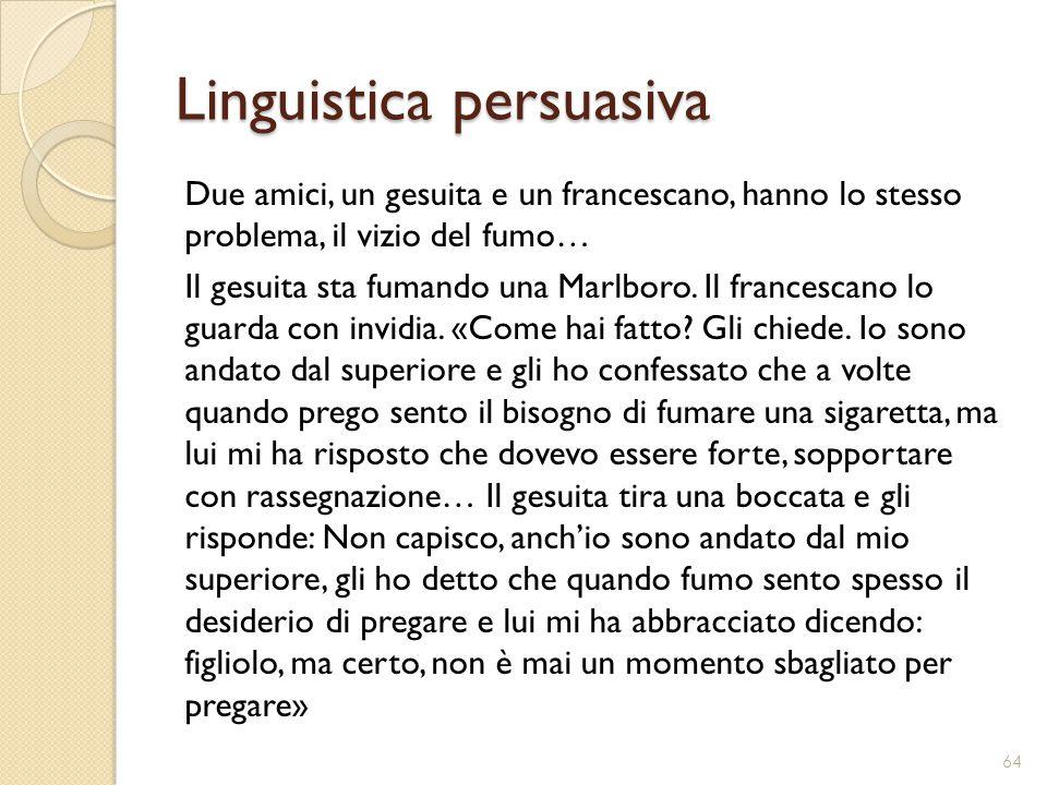 Linguistica persuasiva