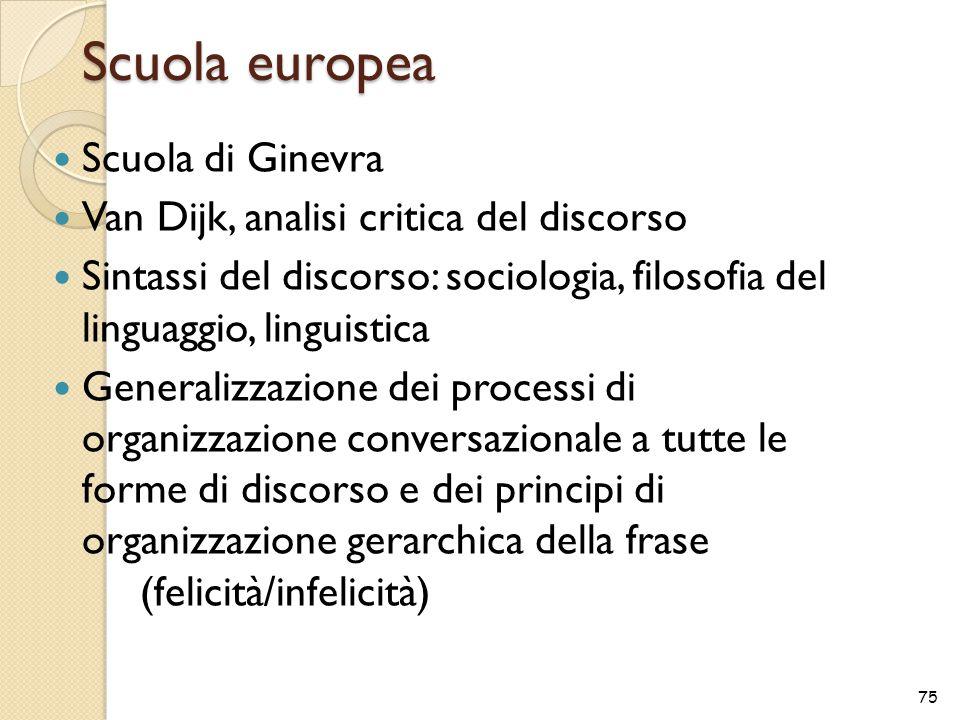 Scuola europea Scuola di Ginevra