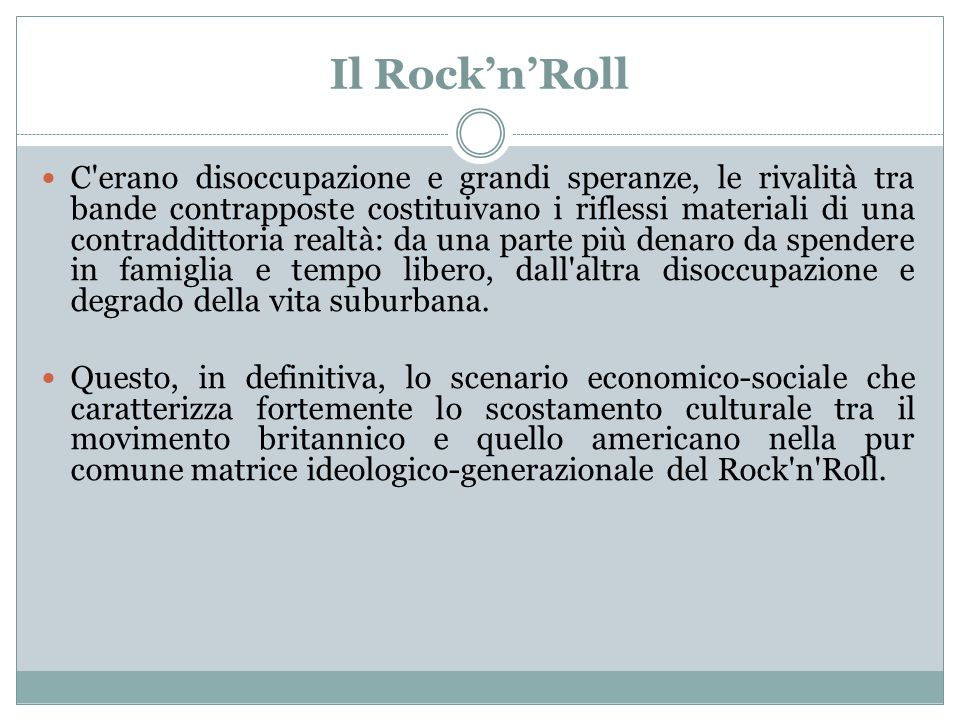 Il Rock'n'Roll