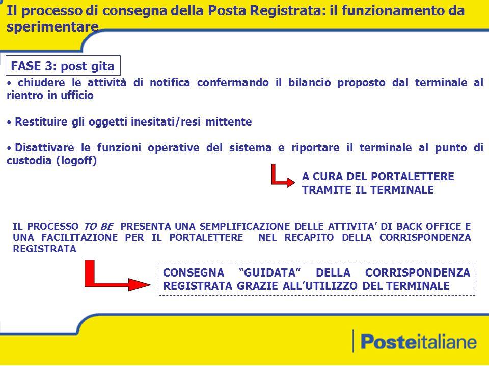 Il processo di consegna della Posta Registrata: il funzionamento da sperimentare