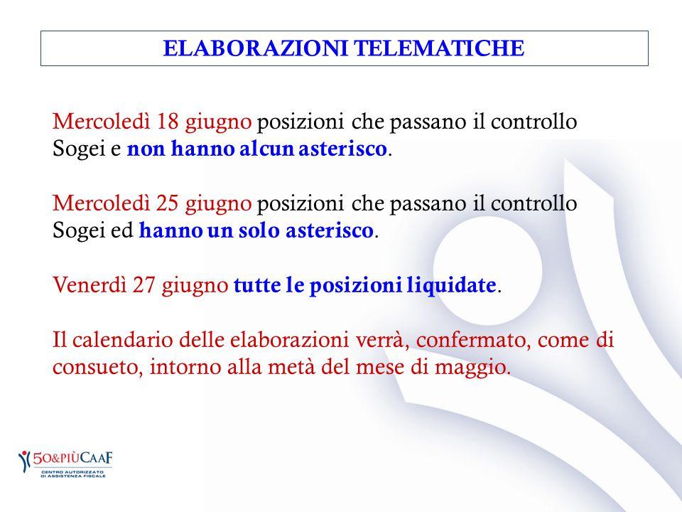 ELABORAZIONI TELEMATICHE