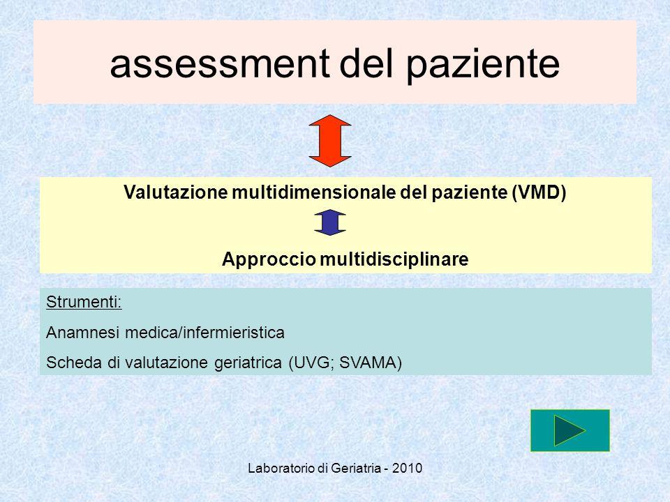 assessment del paziente