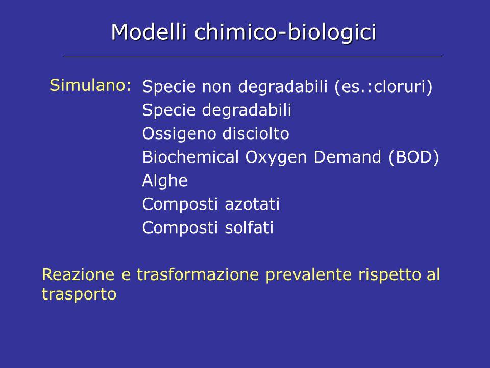 Modelli chimico-biologici