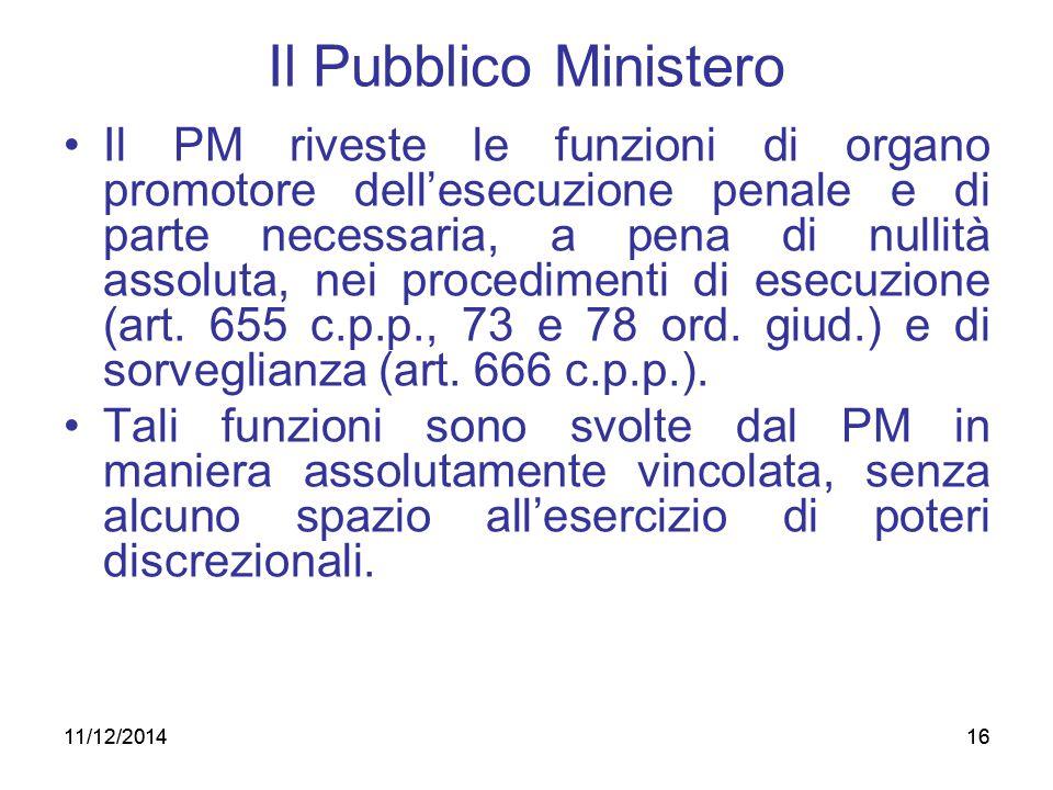Il Pubblico Ministero
