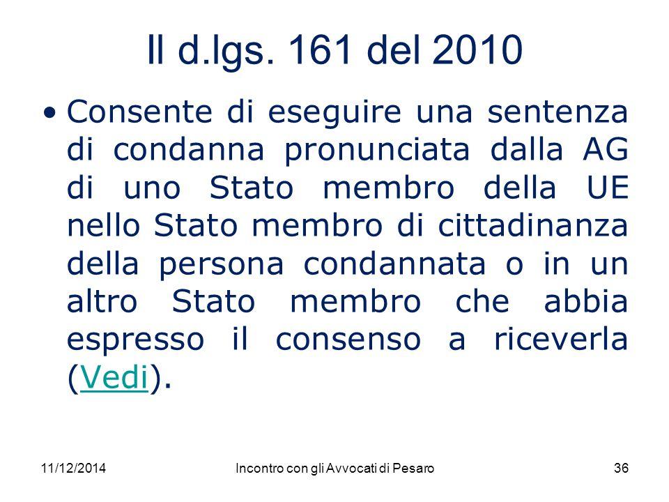 Incontro con gli Avvocati di Pesaro