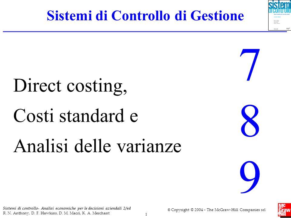 Sistemi di Controllo di Gestione