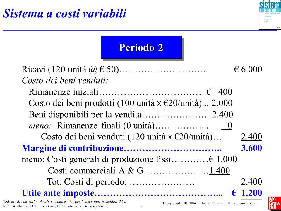 Sistema a costi variabili